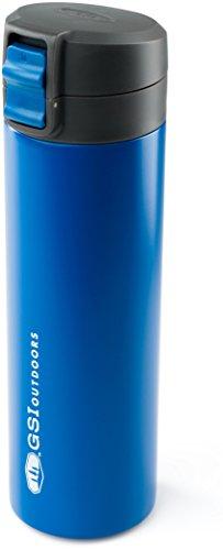 GSI Outdoors Microlite Vac Bottle 720ml Flasche, Unisex Erwachsene, Unisex – Erwachsene, 67122, blau, 720 ML