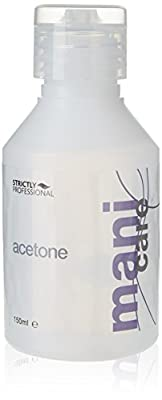 Strictly Professional Acetone Removes Nail Polish and Artificial Nails 150 ml