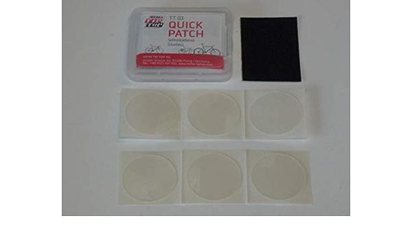 Rema Tip Top Schlauch Reparatur Set Sortiment Tt 03 Quick Patch Selbstklebend Fahrradreifen 506003 Baumarkt