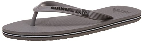 Quiksilver Molokai M Sndl Sandalias con plataforma plana, Hombre, Gris (Grey Heather / Charcoal Heather), 42 EU (7 UK)