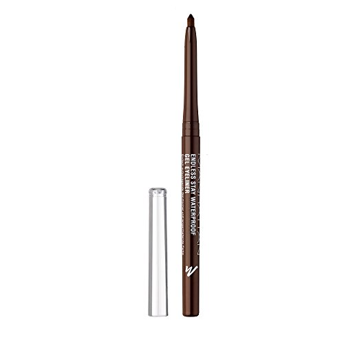 MANHATTAN Endless Stay Waterproof Gel Eyeliner, 001 Rich Brown, langanhaltend, wisch- und wasserfest, ohne anspitzen
