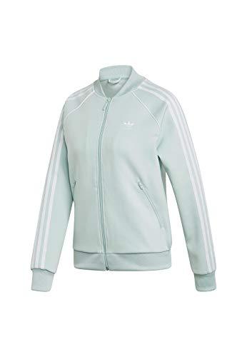 Adidas Sweatjacke Damen SST TT ED7590 Mintgrün, Size:38