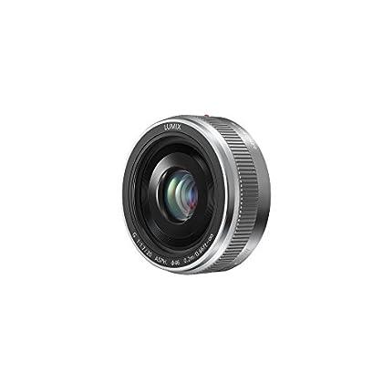 Panasonic LUMIX H-H020AE-S 20 mm Micro Four Thirds Camera Lens - Silver