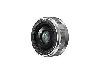 Panasonic H-H020AE-S - Objetivo para Panasonic Lumix G (Distancia Focal Fija 40 mm, diámetro: 150 mm), Plateado (B00E9U5I2C) | Amazon Products