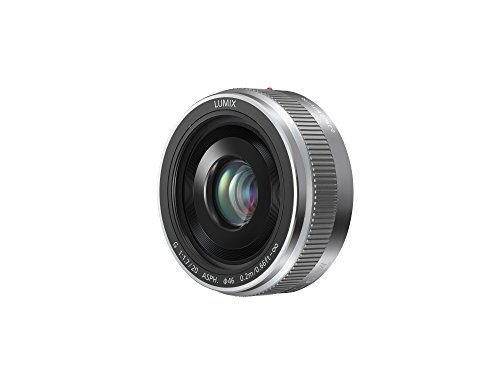 Panasonic 20 mm / F 1.7 LUMIX G ASPH (H-H020E)-Lens