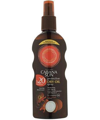 Cabana Sun Deep Tanning Dry Oil Spray Coconut Water...