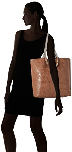 Tamaris - AMBER Shopping Bag, Borsa shopper Donna Marrone (Braun (tobacco comb 320))