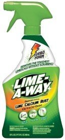 Lime-A-Way Bathroom Cleaner 32 Fl Oz Bottle Remoes Lime Calcium Rust Pack Of