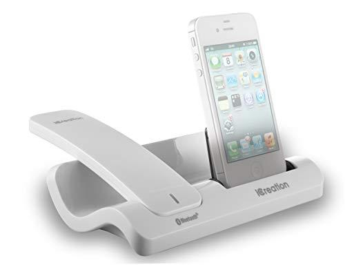 Geemarc I450 Weiß - Design Dockingstation für die i-Phone Serie (3 bis 4S) mit Bluetooth Headset