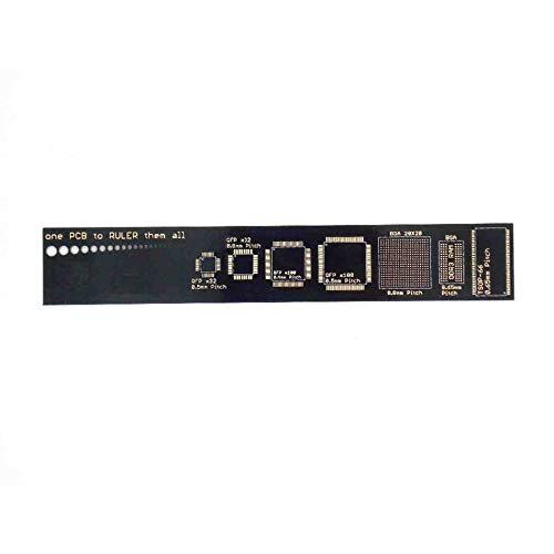 """PCB Lineal V2-6\""""für elektronische Ingenieure Geeks Makers Arduino FansFont Größentabelle, Spurweite Diagramm - Bunte"""