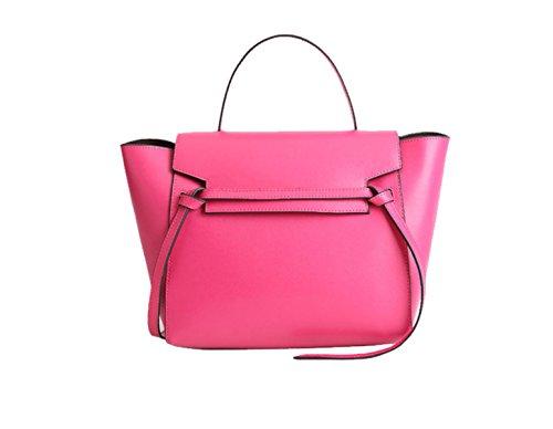 Di Modo Delle Signore Di Grande Capienza Messenger Bag Multi-color Pink