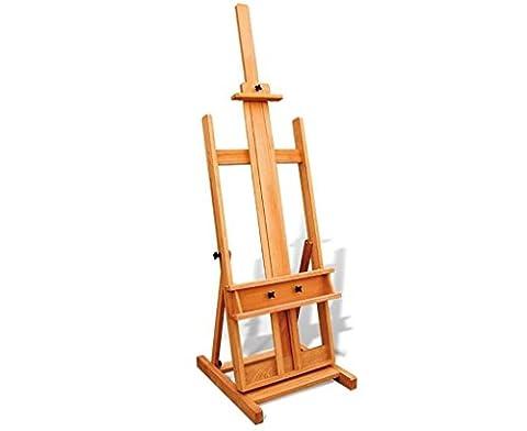 Chevalets Dessin d'art de haute qualité chevalet en hêtre B147 pour solide et lisse chevalet peinture
