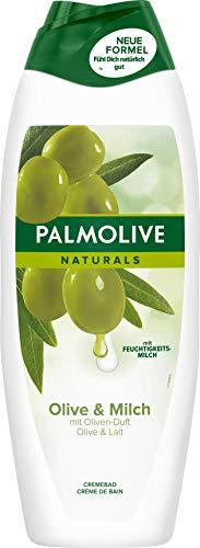 Palmolive Naturals Olive und Feuchtigkeitsmilch Cremebad, 6er Pack (6 x 650 ml)