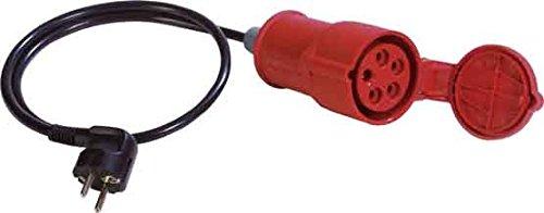 Benning 16A CEE-Kupplung auf Schutzkontaktstecker Passend für (Details) VDE 0701/0702 Prüfgerät S