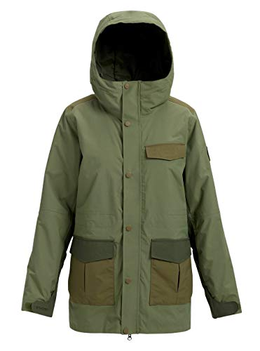 ne Snowboard Jacke, Clover/Forest Night/Hickory, M ()