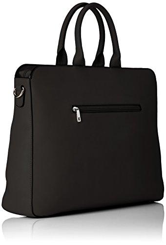 Bulaggi - Tangu Laptop Bag, Borse a secchiello Donna Nero (Schwarz)
