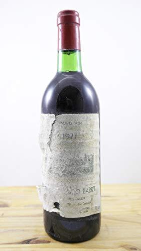 Vino Cosecha 1977 Château Grand Barry ETA Botella