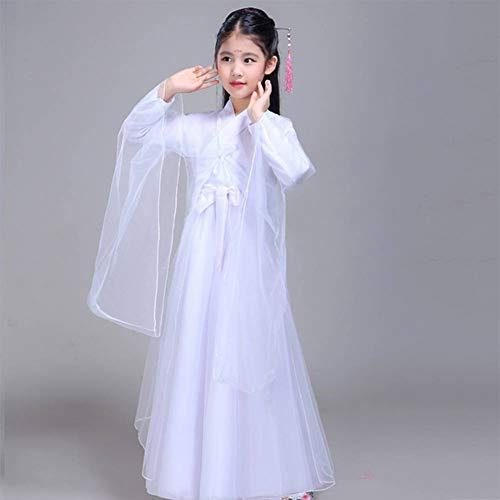 Kostüm Baby Samurai - GUAN Halloween Kinderkostüm Fairy Dance Dress Dance Hanfu Fotografie Foto Dance Wear