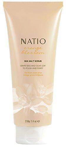 Natio Orange Blossom Sea Salt Scrub 210g