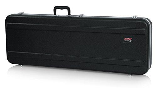 GATOR GC-ELEC-XL - Estuche para guitarra eléctrica de ABS (interior moldeado), color negro