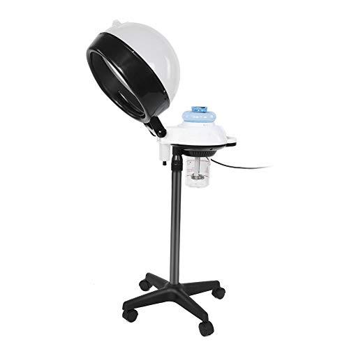 casque Sèche-cheveux professionnel pour Salon SPA, Vapeur avec avec support capuche pour teinter le cheveux et conditionnement Permanent blanc
