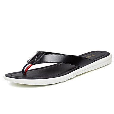 Slippers & amp da uomo;Sandali estate casuale Luce Soles bovina sandali US7 / EU39 / UK6 / CN39