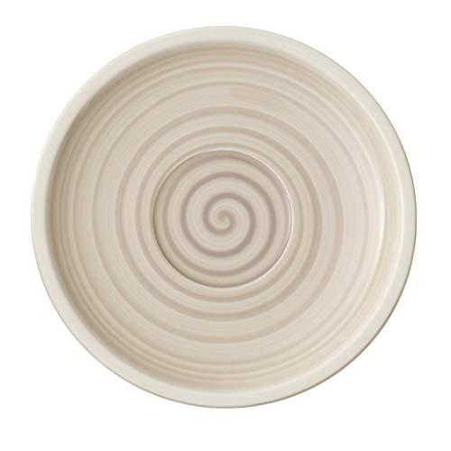 Villeroy & Boch Artesano Nature Beige Sous-tasse, 16 cm, Porcelaine Premium, Beige