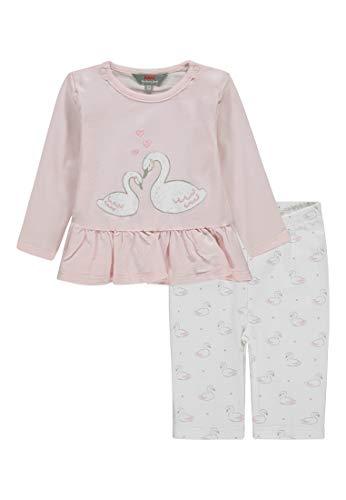 Kanz Baby-Mädchen Set 2tlg. (Tunika 1/1 Arm + Leggings) Bekleidungsset, Pink (Ballerina|Rose 2096), 68