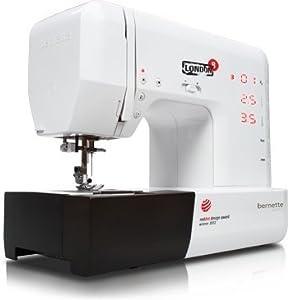 Bernette Sublime London 8 - Máquina de coser (155 patrones de costura y alfabeto) de Bernina