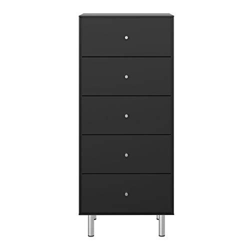Steens MAGA Kommode, MDF, 47 x 111 x 40 cm, schwarz