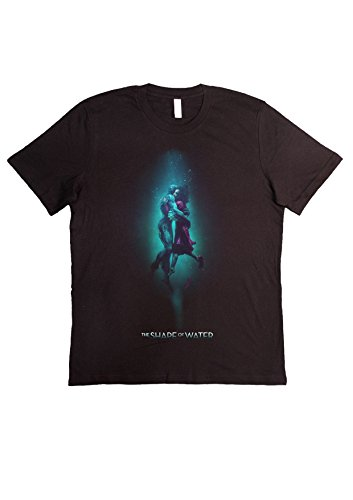 VILLAGESTORE T-Shirt Unisex Fashion 100% Baumwolle (Überprüfen Sie Ihre Grösse von UNSEREM Grössen-Führer) LA Forma Dell'Acqua - The Shape of Water 2018 Guillermo Del Toro Oscar Best Movies