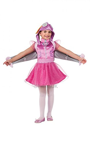 ye Hund Pilot Rescue Fancy Dress Party Kostüm Mädchen Outfit (Mädchen Kostüm Pilot)