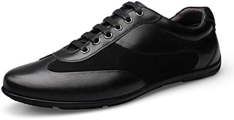 ZHRUI Boy's Men's Classic nero Lace-up Lace-up Lace-up Daily scarpe da ginnastica UK 5 (Coloreee   -, Dimensione   -) | Scelta Internazionale  1c96ef