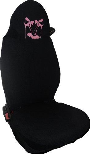 Preisvergleich Produktbild Auto Sitzbezüge Schonbezüge Sitzbezug Pink Damenschuhe für SMART FOR TWO Microfiber Made in Italy