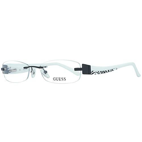 Guess Damen Brille Gu2264 D50 52 Brillengestelle, Schwarz,