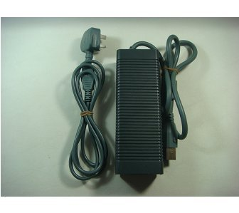 Official Microsoft Xbox 360 Power Supply Pack 175W Brick Adapter & UK Power Cord