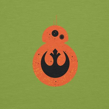 NERDO - Rebel Droid - Damen T-Shirt Kiwi