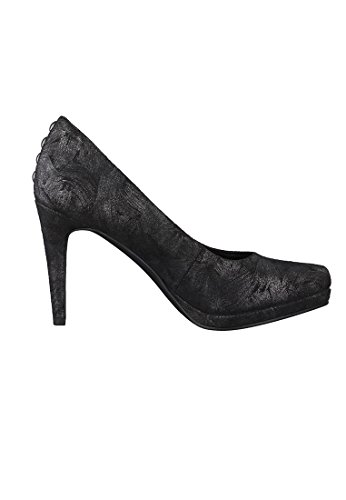 Tamaris Damen 22446 Pumps Schwarz (Black Struct)