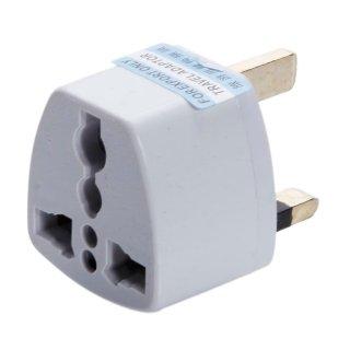 easyshop Portable USA nel Regno Unito standard Plug Adapter Converter Bianco (13A / 250V)