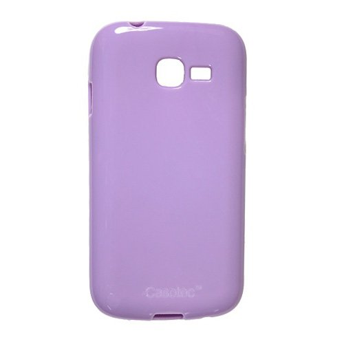 Casotec Soft TPU Back Case Cover for Samsung Galaxy Star Pro S7262 - Light Purple  available at amazon for Rs.179