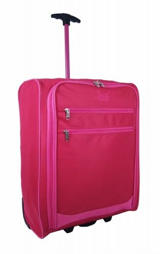 new-jazzi-on-board-luggage-bag-flight-cabin-wheels-lightweight-easy-jet-approved-size-two-tone-colou