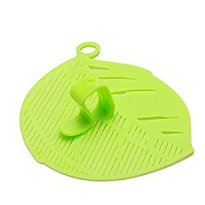 VWH Durable Reis waschen Sieve Bohnen Erbsen Reinigung Gadget Küche Clips Werkzeuge (grün)