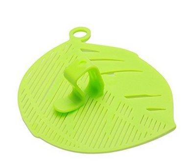 VWH Durable Reis waschen Sieve Bohnen Erbsen Reinigung Gadget Küche Clips Werkzeuge (grün) Clip-gadget