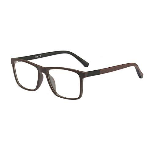 IOSHAPO Retro Optische Gläser voll rahmen Männer und Frauen Mode Ultraleichte Gläser