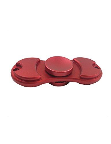 Preisvergleich Produktbild EDC Fidget Spinner Toys Hand Spinner 360° Finger Spielzeug für Kinder und Erwachsene Spielzeug Geschenke,Stresslöser Stressreduzierer Angstzustand ADD ADHS Konzentration Faulenzen Zeitvertreib Rot Messing