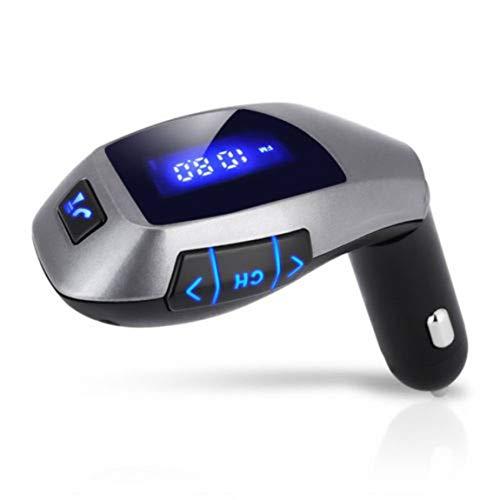 HarveyRudol85 [Ausgezeichnet] MP3-Player-drahtlose Auto-Player-FM Radio-USB-Ladegerät-Kit -
