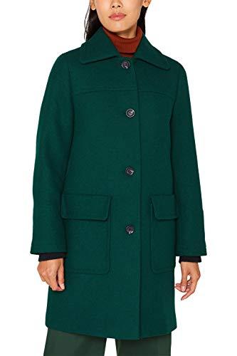 Esprit 099ee1g039s Abrigo, Verde Bottle Green 385, XX-Large para Mujer