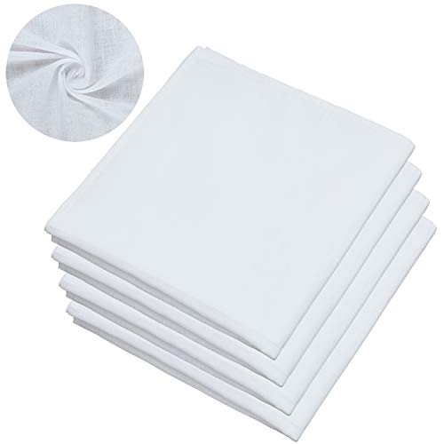 Elcoho - Pack 4 bolsas muselina cuadrada algodón