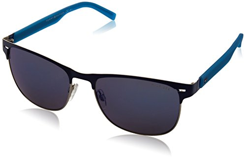 Tommy Hilfiger Unisex-Erwachsene Sonnenbrille TH 1401/S XT, Schwarz (Mtblue Teal), 56 Preisvergleich