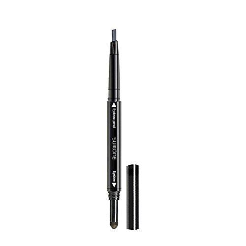 Contever® 11.9x2.1cm Waterproof con punta Eyebrow Eyeliner Creme / Pencil per sopracciglia - Grigio